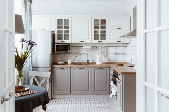 decluttering cucina, riordino cucina, ordinare cucina