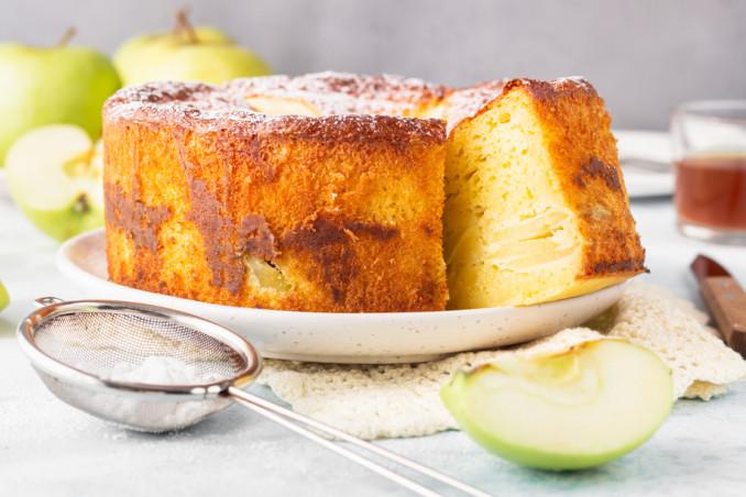torta mele senza lattosio