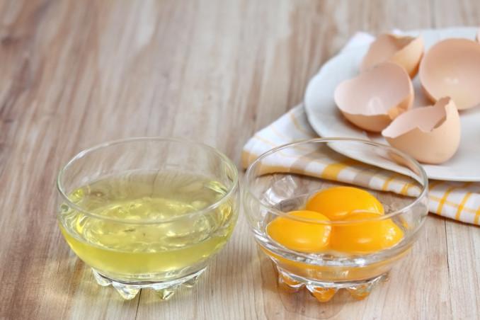rimedi della nonna, albumi d'uovo, bellezza