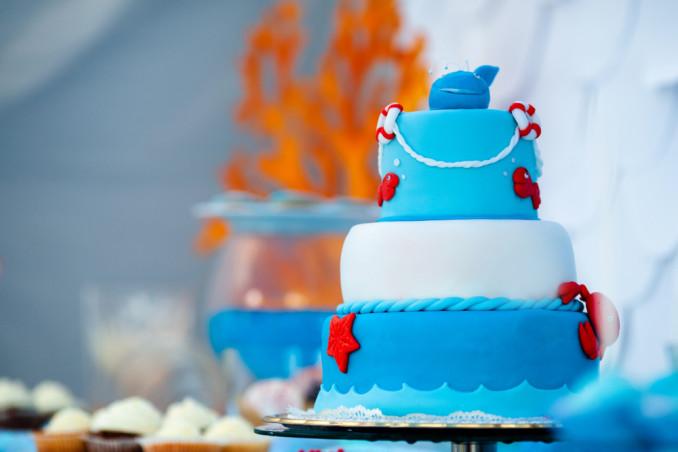 torte bambini tema mare pasta di zucchero, torte bambini mare, torte bambini pasta di zucchero
